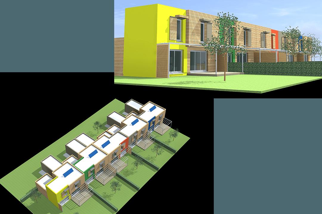 architecte a nimes-maitre d'oeuvre-ossature bois-projets immobiliers-cabinet d'architecture